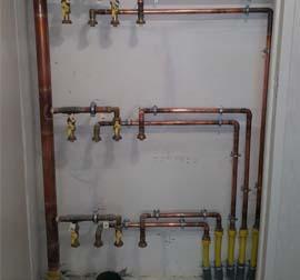 EMV. Installeur en gaz