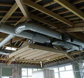 EMV. Installeur en ventillation