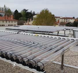 Productions eau chaude solaire collectives