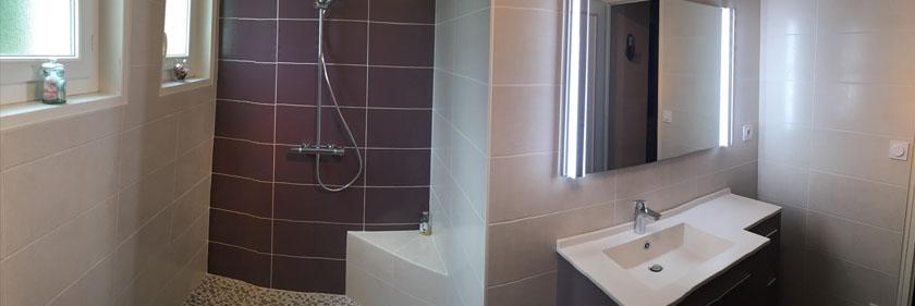 EMV - Réalisation salle de bain clé en main