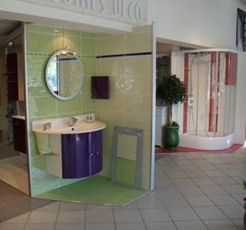 EMV Showroom : salles de bain exposées sur plus de 200 m²