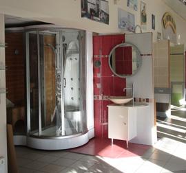 EMV Showroom : agencement, sanitaire, meubles,etc...